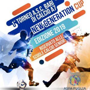 Torneo ASC BARI di CALCIO A 7 NEW GENERATION CUP