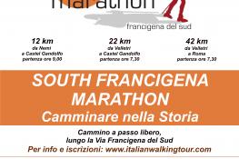 Presentata la prima edizione della South Francigena Marathon