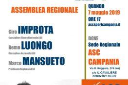 Convocazione assemblea regionale ordinaria ASC CAMPANIA