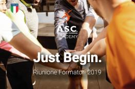 RIUNIONE FORMATORI ASC – 8 GIUGNO 2019