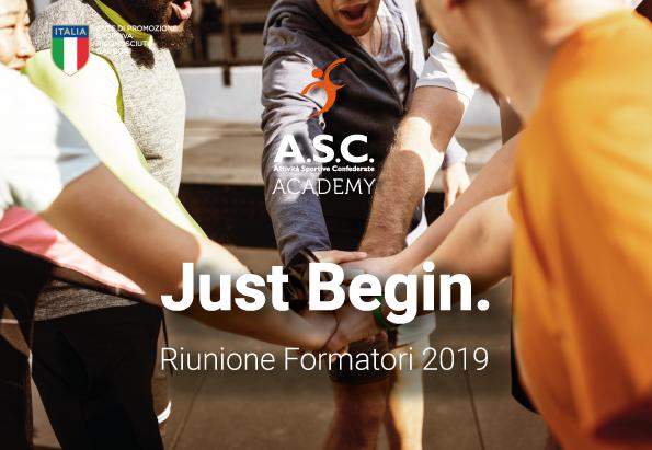RIUNIONE FORMATORI ASC - 8 GIUGNO 2019
