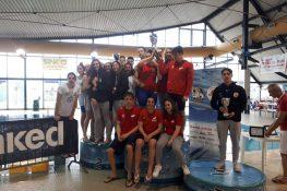 """Al meeting """"Lago di Garda"""" di Desenzano i nuotatori della Sport Management vincono entrambe le classifiche per società"""