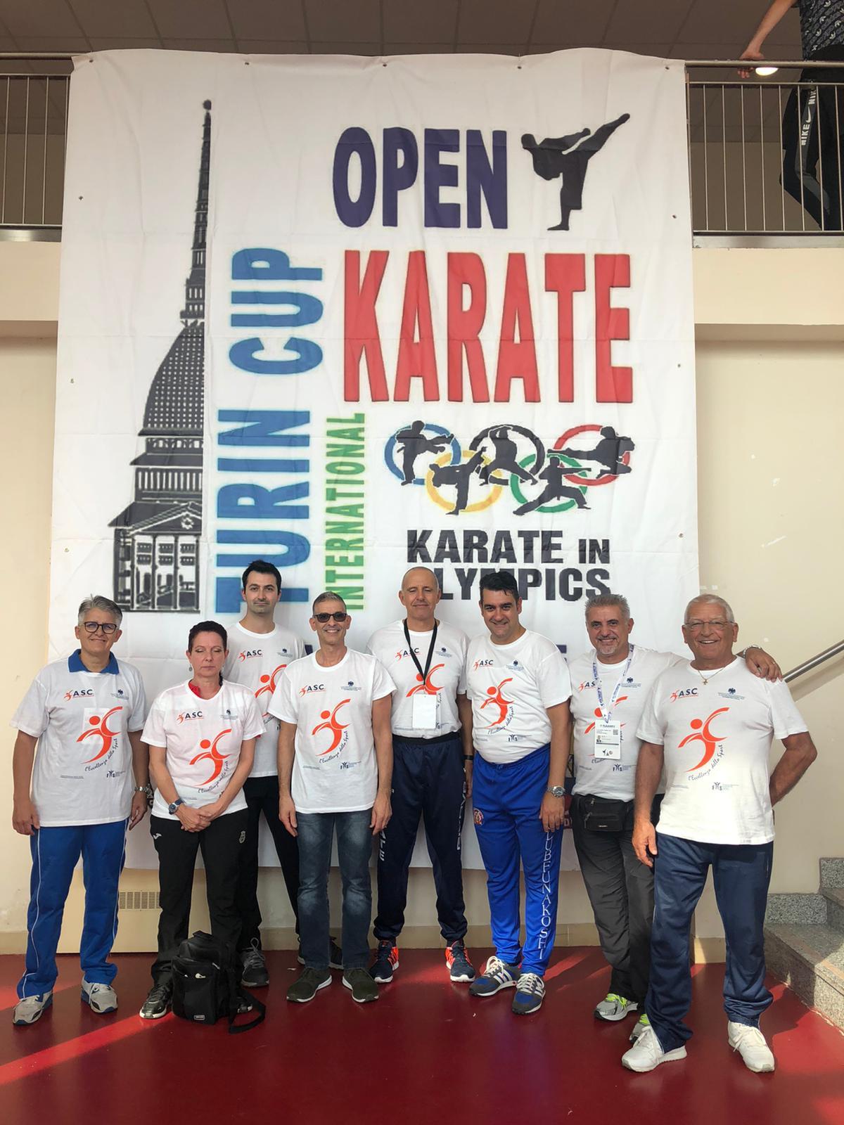 Rappresentativa Karate Sportivo Nazionale ASC - 9   Turin Cup