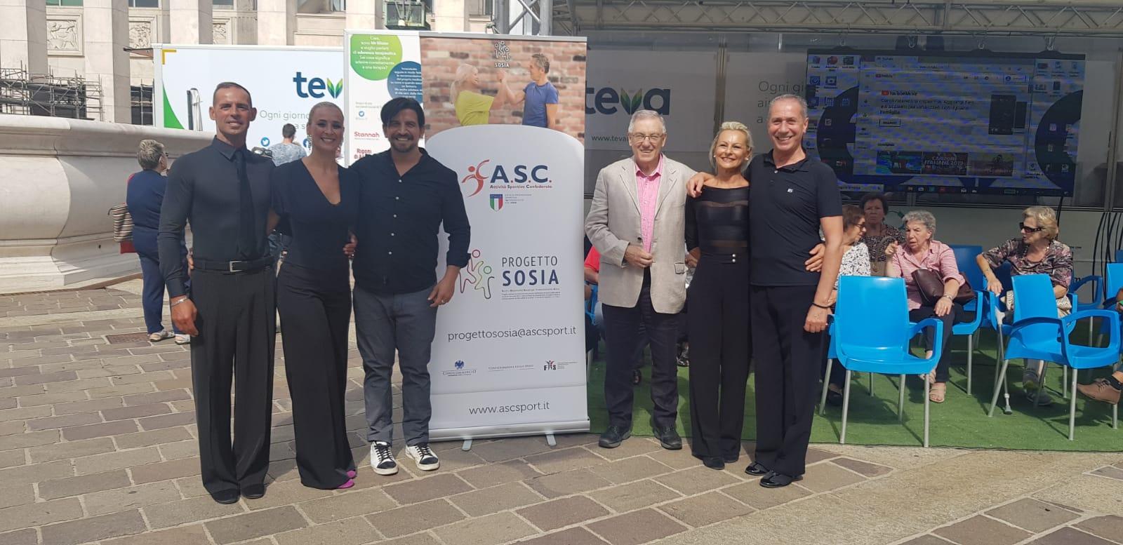 Progetto SOSIA a Bergamo con il Tour della Salute