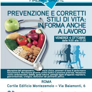 PROGETTO SOSIA – Prevenzione e corretti stili di vita: in forma anche a lavoro!