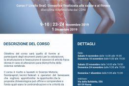 POSTURAL RECOVERY - Corso di 1 livello SNaQ Ginnastica finalizzata alla salute e al fitness