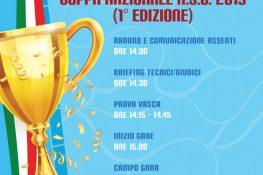 COPPA NAZIONALE A S C  2019   1  edizione  - SETTORE NUOTO GIOVANILE