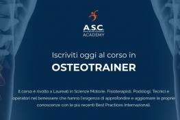 Percorso Formativo OSTEOTRAINER - ASC Academy
