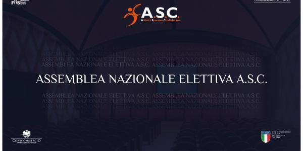 Assemblea Nazionale Elettiva: rinvio nel rispetto delle norme di tutela della salute a causa dell'emergenza epidemiologica.