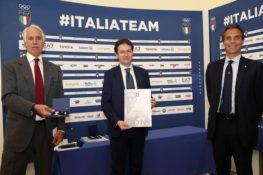 Il Presidente ASC Luca Stevanato riceve la prestigiosa onorificenza della Stella D'oro al Merito Sportivo