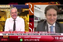 Riaperture e ripartenza – Il Presidente Luca Stevanato ospite a Roma di Sera