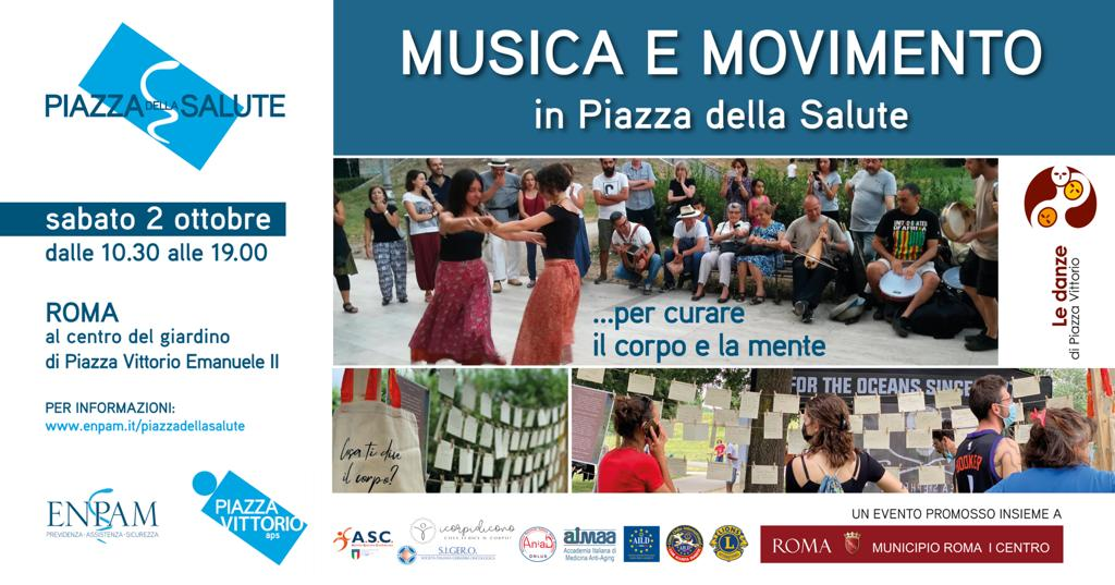 MUSICA E MOVIMENTO in Piazza della Salute